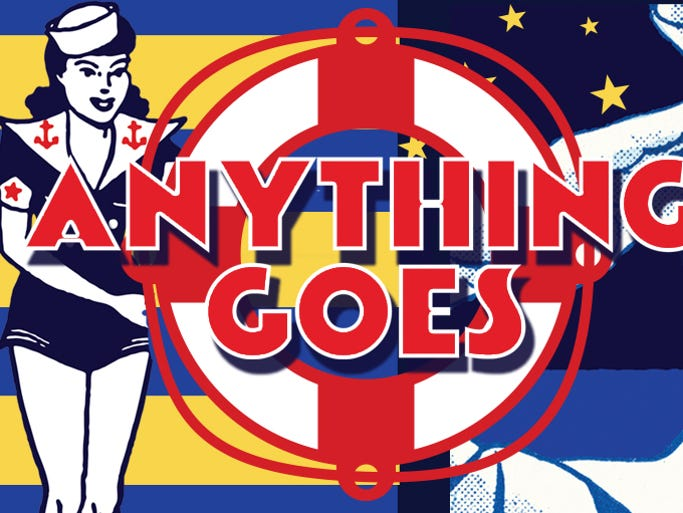 THROUGH 3/22: 'ANYTHING GOES' | It's high jinks on