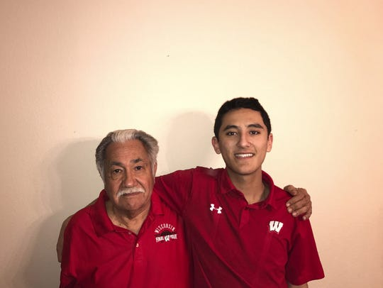 Luciano Barraza (left) will participate in the UW–Madison