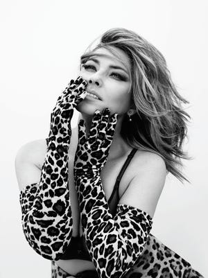 """Shania Twain is the sole songwriter on her new album """"Now."""""""
