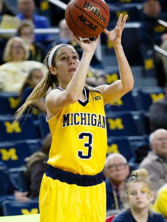 NCAA Womens Basketball: Penn State at Michigan
