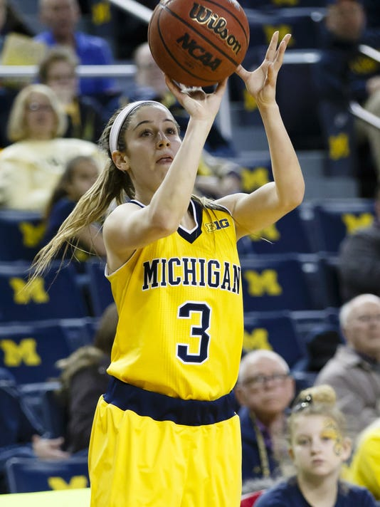 NCAA Womens Basketball: Penn State at Michigan