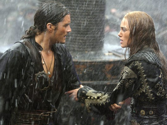"""While promoting 2007's """"Pirates of the Caribbean: At World's End,"""" Orlando Bloom (with Keira Knightley) said """"no"""" to """"Saturday Night Live"""" because he was worried his dyslexia would interfere with the gig."""