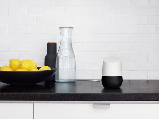 Google Home -- A voice-activated product that according