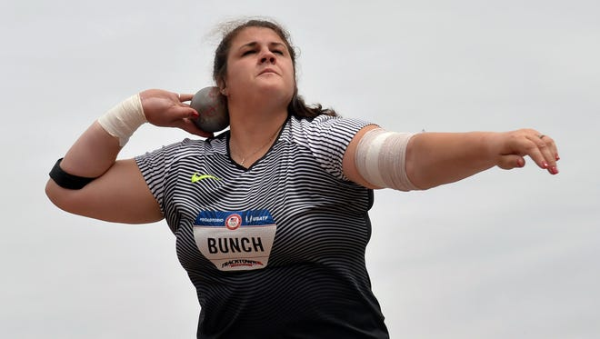 Dani Bunch will compete in the World Track and Field Championships in London.