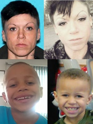 Danielle Steiner, 34, and Aubrey Hall, 5, are missing from the south Lansing area.