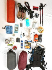 Zach's backpacking gear includes all the necessities and a few luxury items.