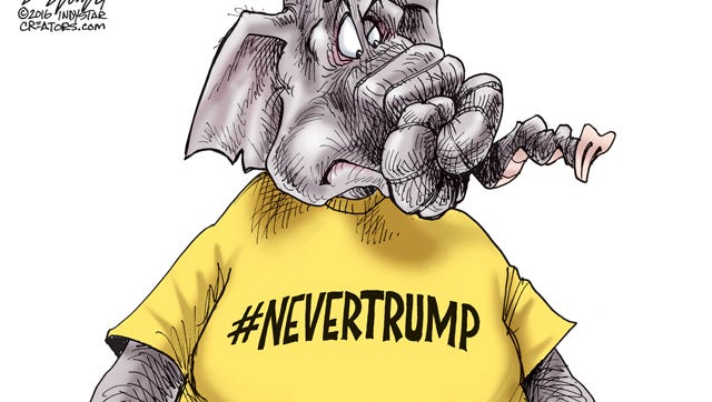 The Never Trump movement was smothered at the Republican National Convention in Cleveland.