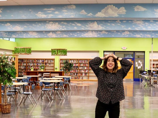 Memphis transplant Molly Wallace, head librarian for KIPP charter schools, is rallying community support for building in-school libraries in KIPP's seven locations.