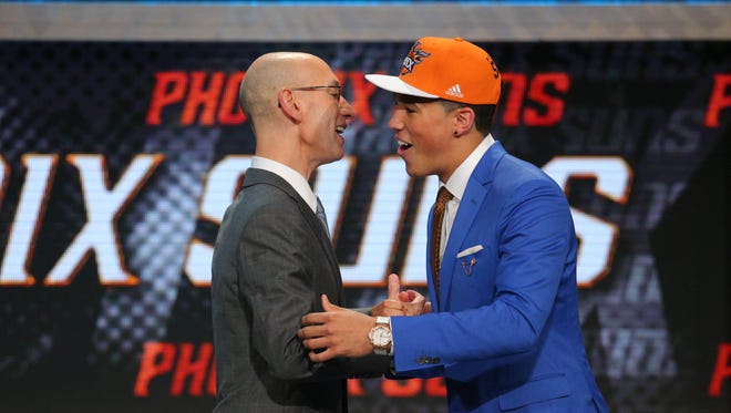 How did the Suns fare in the NBA draft? USA TODAY Sports gives grades for each team.