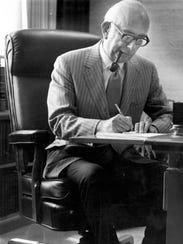 8/19/1971 -- Judge S. Hugh Dillin renders the decision