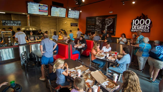 1000 Degrees Neapolitan Pizza opened its first Tennessee location in Turkey Creek.