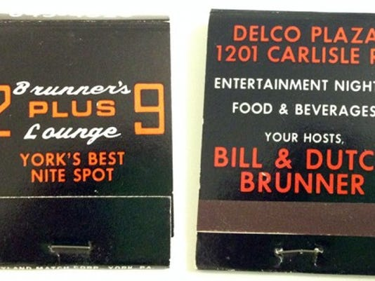 Bill Brunner, who co-owned the former 2+9 Lounge in Delco Plaza, shared this matchbook from the establishment.