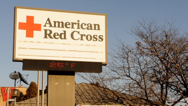 The American Red Cross in downtown Manitowoc.