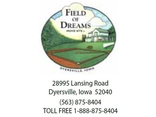 Go The Distance to visit The Field of Dreams in Dyersville, IA and receive 20% off home tours!