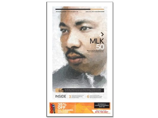 50 years gone. Reflecting on the legacy of Dr. Martin Luther King Jr.