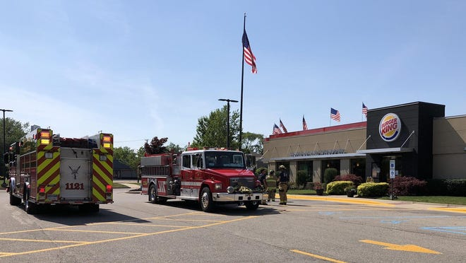 The Holland Department of Public Safety Fire Services quickly extinguished a small exterior fire Tuesday, June 30, at the Burger King restaurant, 735 Michigan Ave.