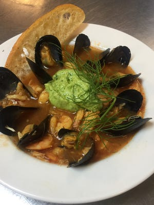 Chef Shawn Calley makes his bouillabaisse recipe easy enough for a weeknight.