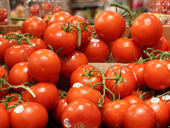 Tomatoes protect against sun damage