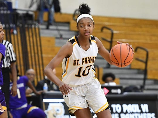 St. Frances junior Angel Reese (Photo: Brad Mills, USA TODAY Sports)