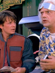 Michael J. Fox and Christopher Lloyd starred in all three 'Back to the Future' films. In the second film, the pair travel from the '80s to Oct. 21, 2015.