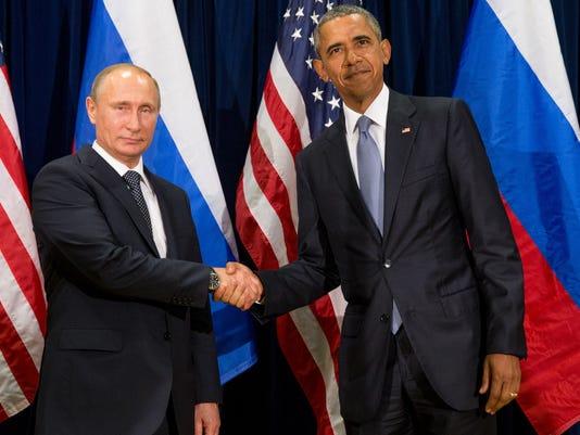 Obama and Putin butt heads over Ukraine and Syria