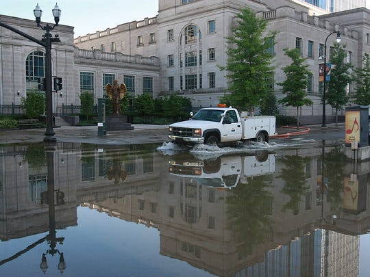 The Schermerhorn Symphony Center sustained $40 million in damage during the May 2010 flood.