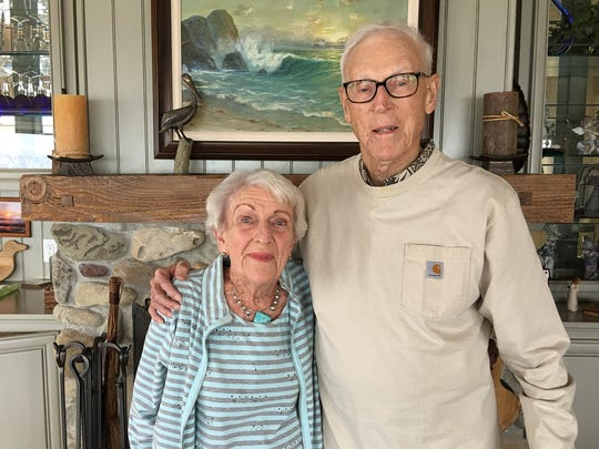 "Doris Bogardus, 96, and Darrell ""Bogy"" Bogardus, 97, of Thousand Oaks, have been married for 75 years. ""Every little bump in the road should not be a reason to think about divorce or separation."" — Darrell ""Bogy"" Bogardus"