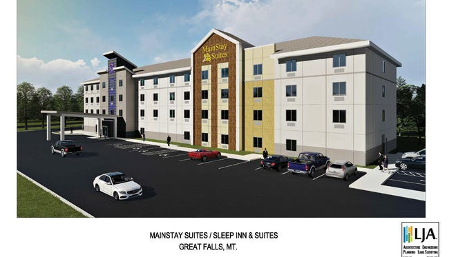 A 95-room MainStay Inn and Suites hotel was scheduled to open off Country Club Boulevard in Great Falls this past summer. Traffic access issues have the potential to block the development completely: TRIBUNE FILE ART