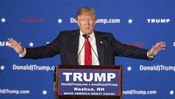 Republican presidential candidate Donald Trump. (Scott