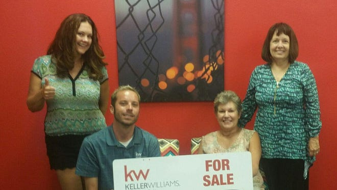 From left, Shonna Jordan, Cory Lee, Barbara Chambers and Ronna Jordan pose for a photo. Chambers, a Farmington businesswoman, recently sold her triplex and duplex with the help of Lee, a realtor with Keller Williams. Chambers donated nearly $50,000 from the proceeds of the sale to Houses with Hope, a nonprofit organization that builds homes for widows and orphans in Africa and assists Native American children in crisis in the Four Corners. The organization was founded in 2003 by long-time Farmington resident Ronna Jordan. For more about the organization and charitable giving of real estate, call Shonna Jordan at 505-280-7472.