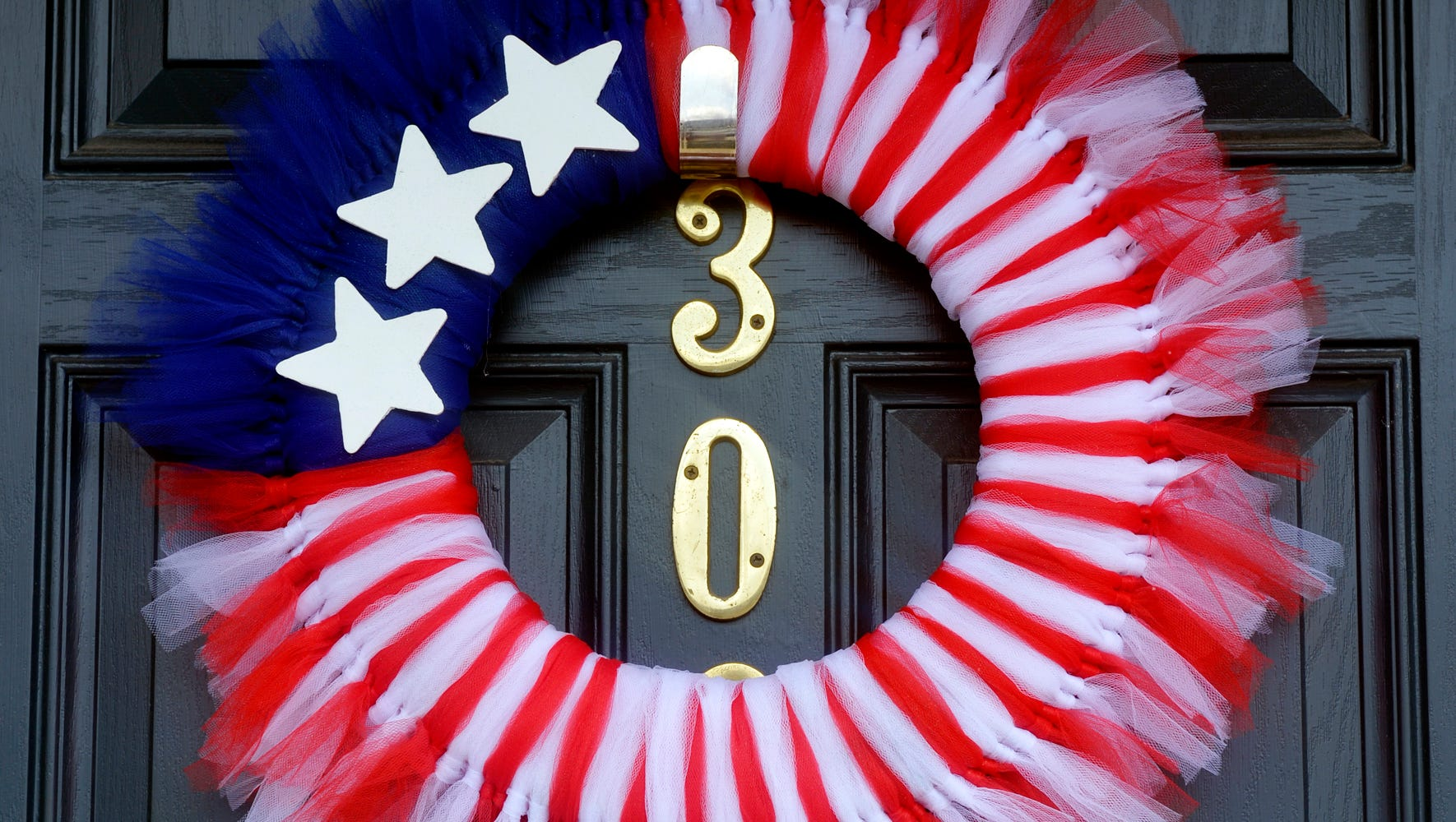 Diy Make Patriotic Wreath