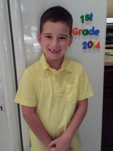 Ethan is happy about heading to 1st grade