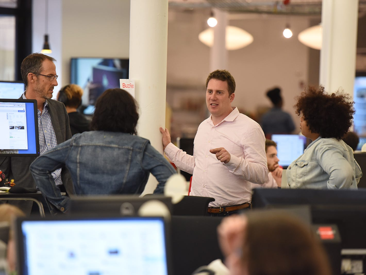BuzzFeed Editor in Chief Ben Smith says he wants his news staff to report stories with