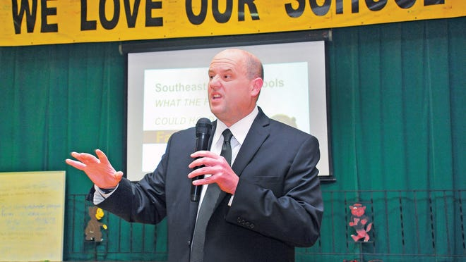 James Ritchie, superintendent of Southeast Local, Orrville City and Rittman Exempted Village school districts said the schools will offer offer options for in-school and online learning in the fall.