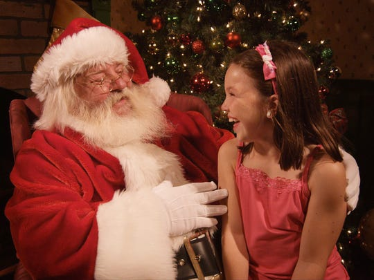 EnterTRAINment Junction offers visits with Santa.