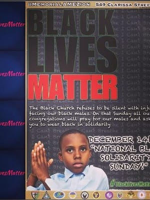 Black Lives Matter Media Release Image