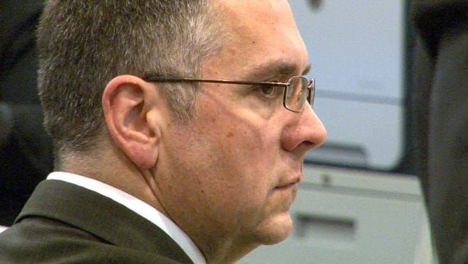 Patrick Allen, convicted of murdering his wife in their Middletown home with a frying pan, will be sentenced Thursday.