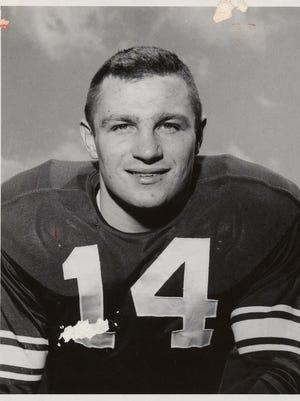 Walt Kowalczyk was third in Heisman Trophy voting in 1957.