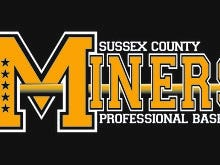 Sussex County Miners logo