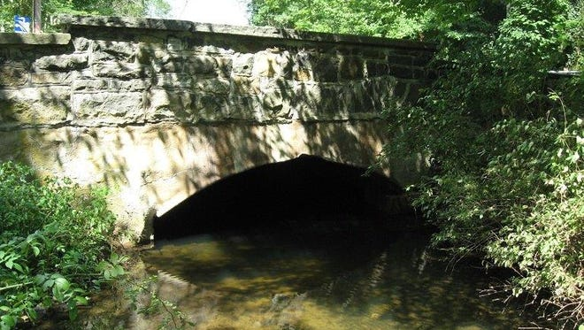 The 118-year-old Mendham Road Bridge will be replaced next month.