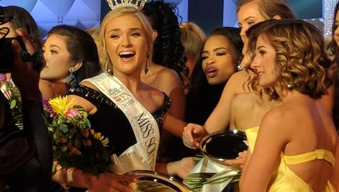 erkley Bryant of Anderson was named Miss SC Teen on Friday.