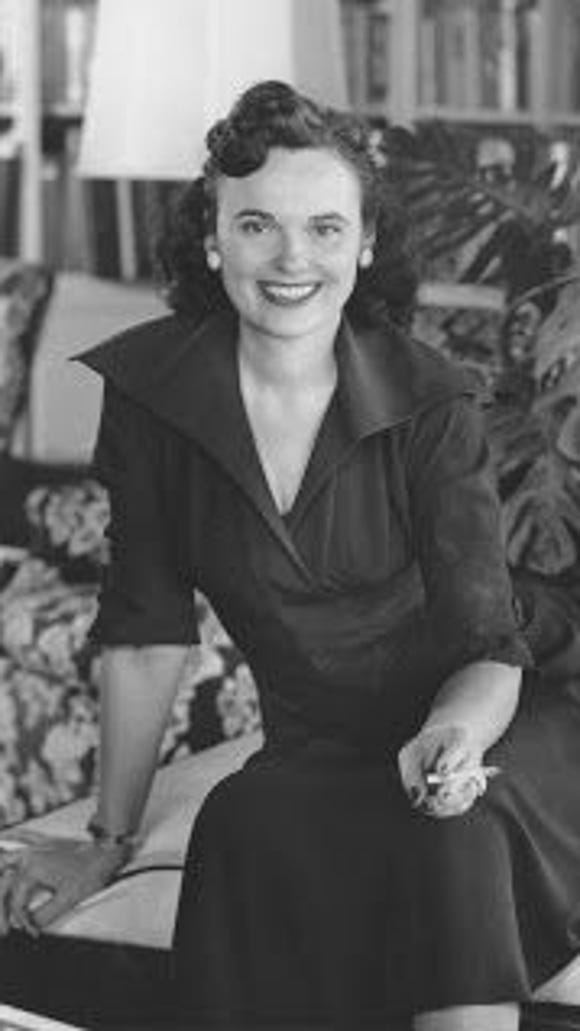 Maggie Savoy was the women's pages editor at The Phoenix Gazette and The Arizona Republic, from 1947 to 1964.