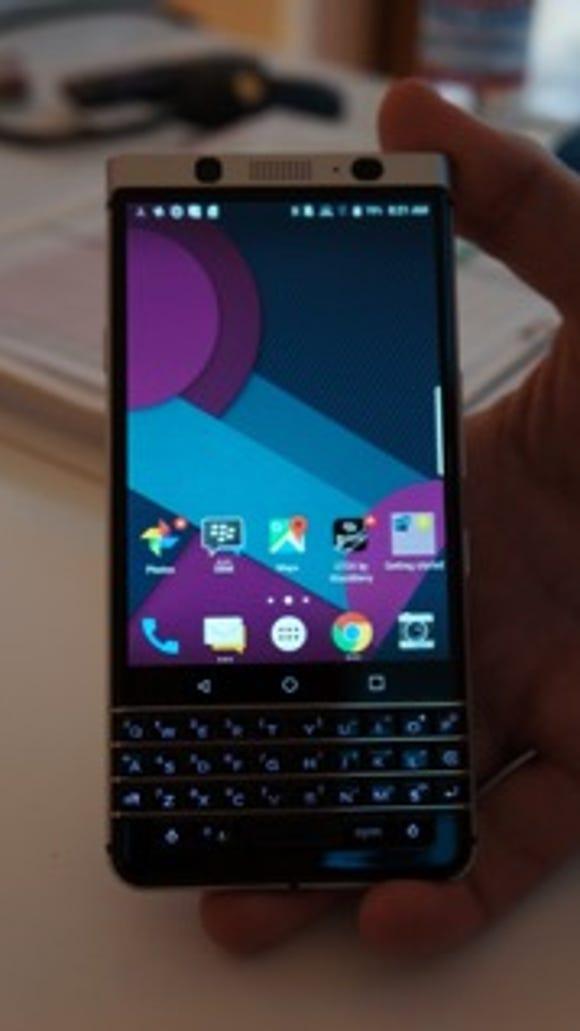 BlackBerry phone codenamed Mercury at CES in Las Vegas