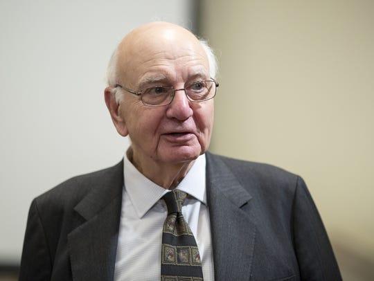Paul Volcker in 2013.