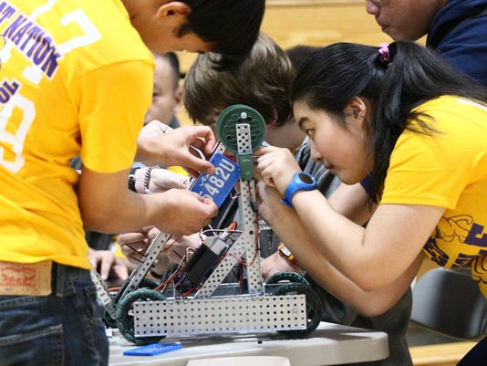 """Battle of the North"" VEX Robotics Competition"