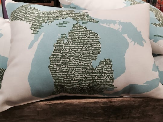 It's Michigan. It's a pillow. It's both!