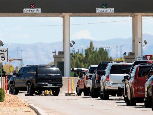 Fort Bliss gate