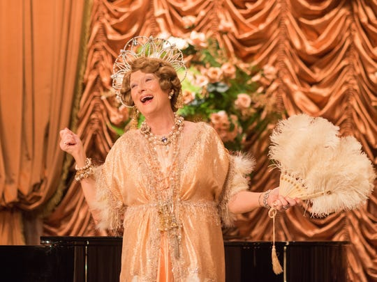 Meryl Streep is the title wannabe opera singer of 'Florence Foster Jenkins.'