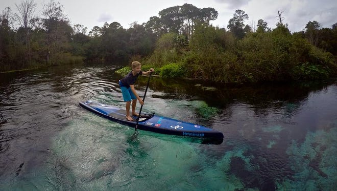 Geiger, 13, will paddle his first 31-mile race down Tennessee's Chattajack River the end of this month. He hopes to become the first in his age group to finish the challenge.