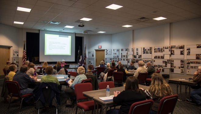 Former Head Librarian Becky Hill will teach genealogy classes at the Hayes Presidential Library and Museums starting in September.